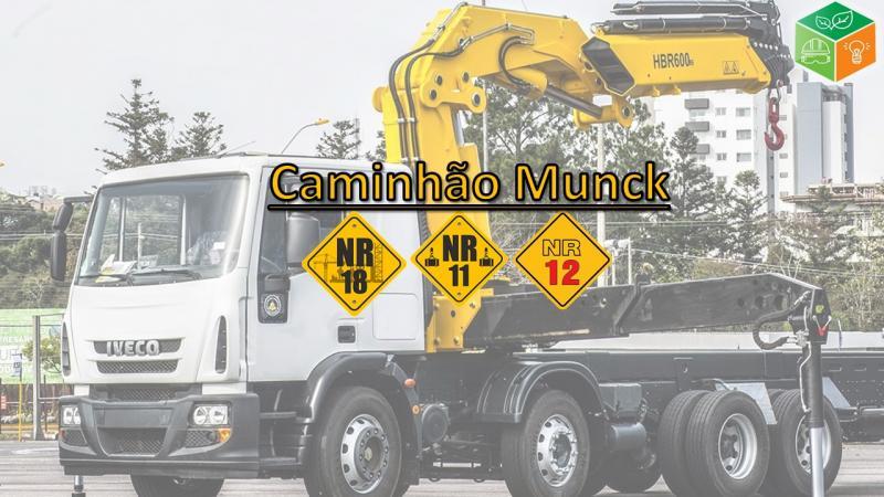 Curso de instrutor de caminhão munck