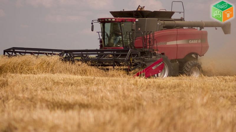 Curso de operador de colheitadeira de grãos