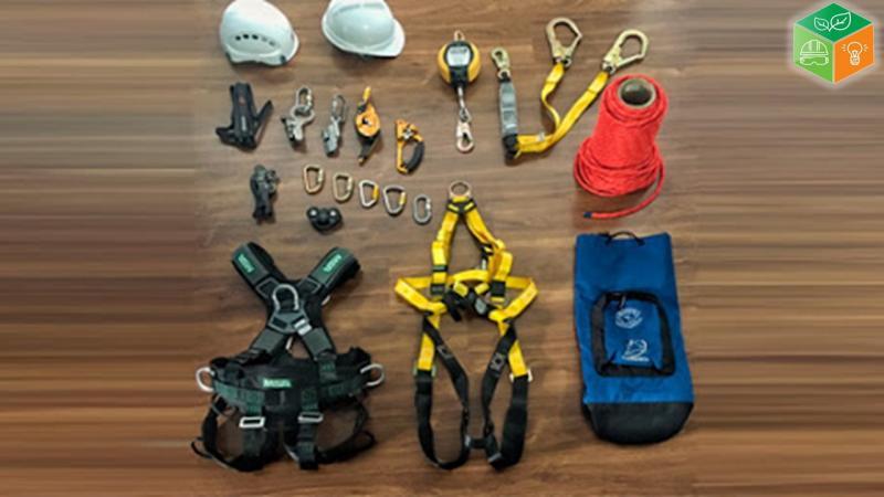Locação de equipamentos de segurança do trabalho