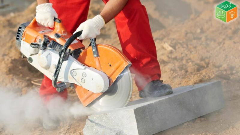 Medição ambiental de poeira respirável