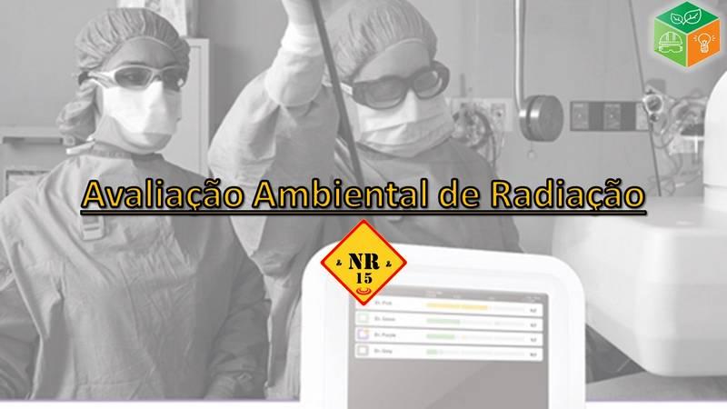 Avaliação Ambiental de Radiação