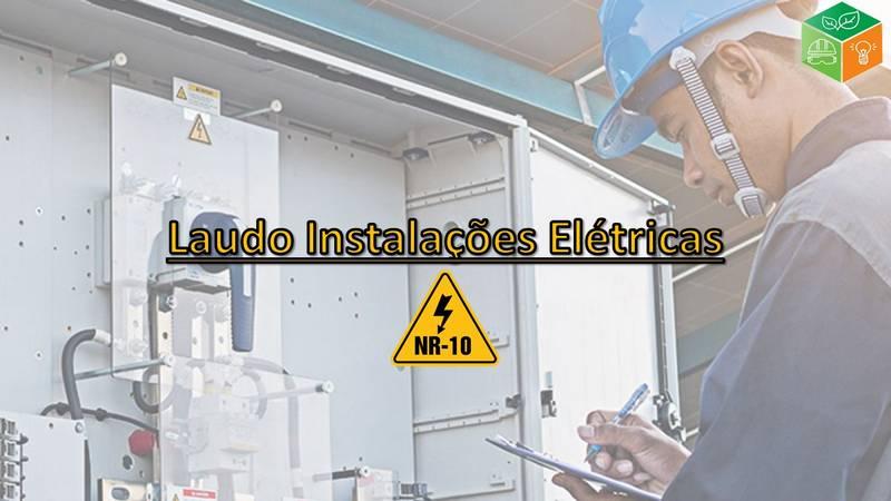 Laudo Instalações Elétricas NR-10