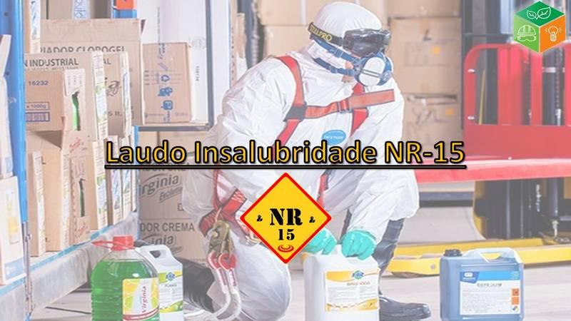 Laudo Insalubridade NR-15