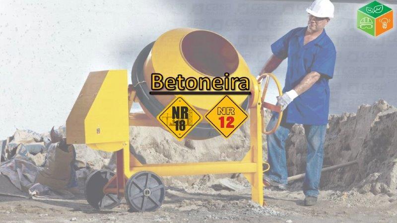 Operador de Betoneira