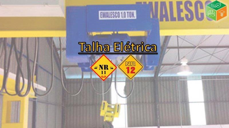 Operador de Talha Elétrica