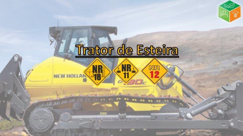 Operador de Trator de Esteira