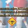 Curso de rotulagem de produtos quimicos