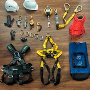 Aluguel de equipamentos de segurança do trabalho