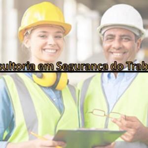 Consultoria de saude e segurança do trabalho