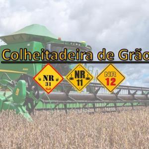 Curso de operador de colheitadeira de soja