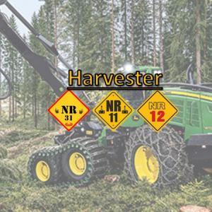 Curso para operador de harvester