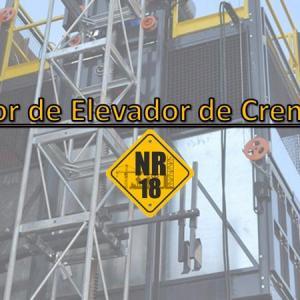 Treinamento para operador de elevador cremalheira